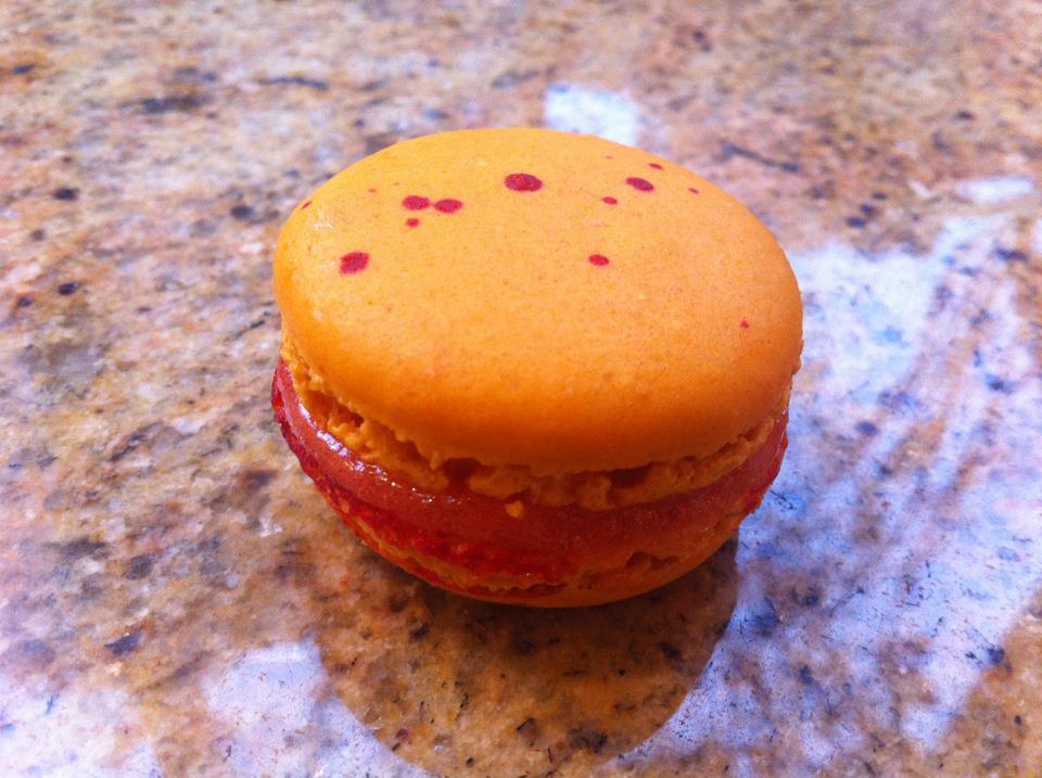 Blood Orange Macaron