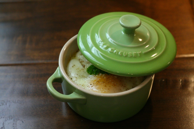 Le Creuset Mini Cocotte.  How cute is this?
