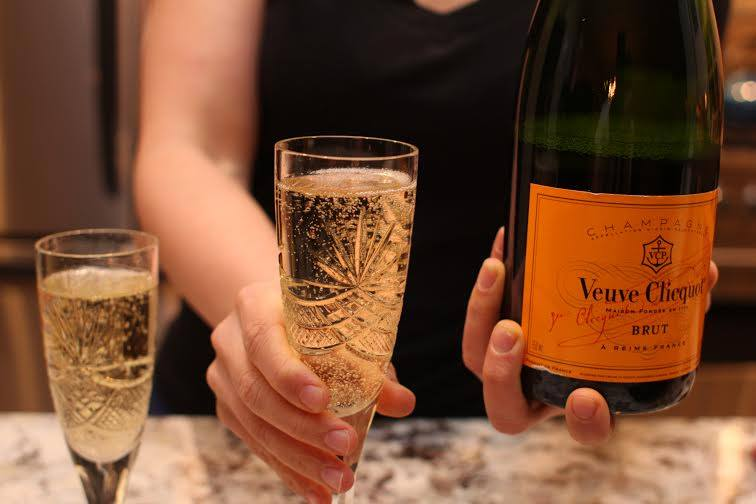 March 13, 2015 - The day I became debt free.  I celebrated with several nice glasses of champagne.